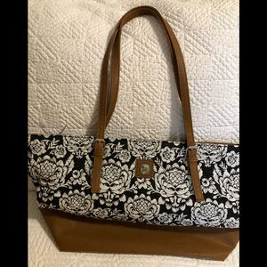 Large quilted shoulder bag by Stone Mountain